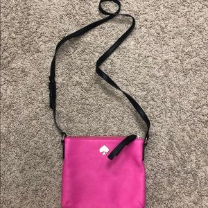 PINK KATE SPADE CROSSBODY! GREAT CONDITION!